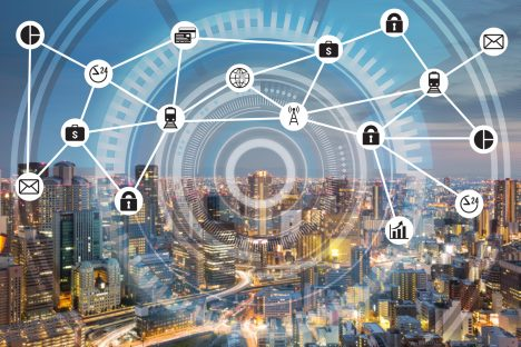 Smart city Internet of Things and Information Communication Technology (c) Fotolia littlestocker